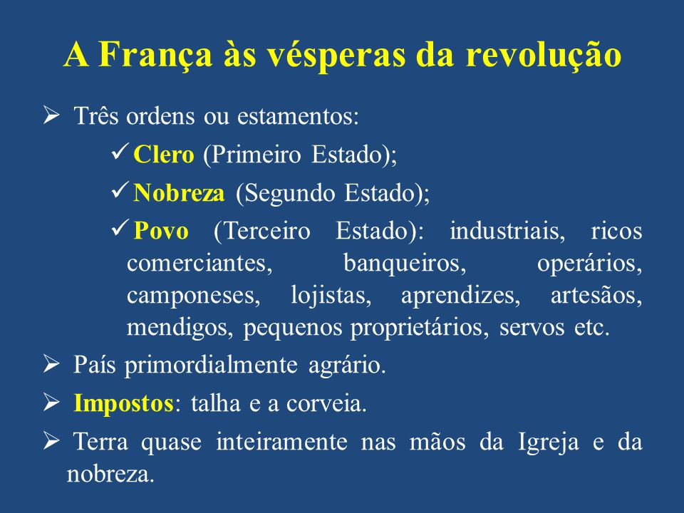 CIDADES: corporações de ofício e manufaturas controladas pelo Estado inibiam o crescimento econômico.