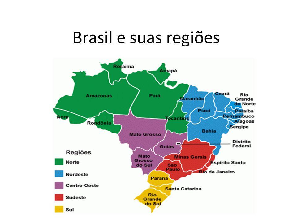 Brasil e suas regiões
