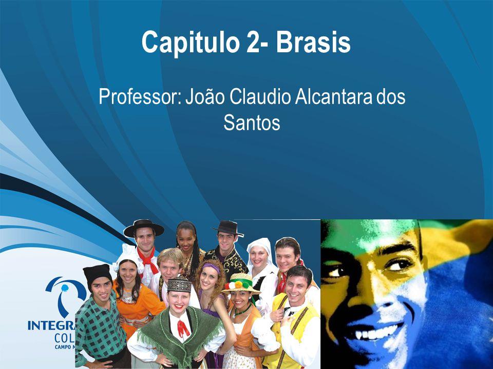Capitulo 2- Brasis Professor: João Claudio Alcantara dos Santos