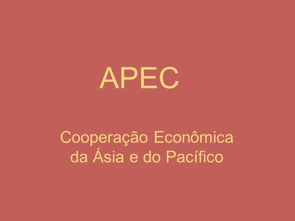 APEC Cooperação Econômica da Ásia e do Pacífico