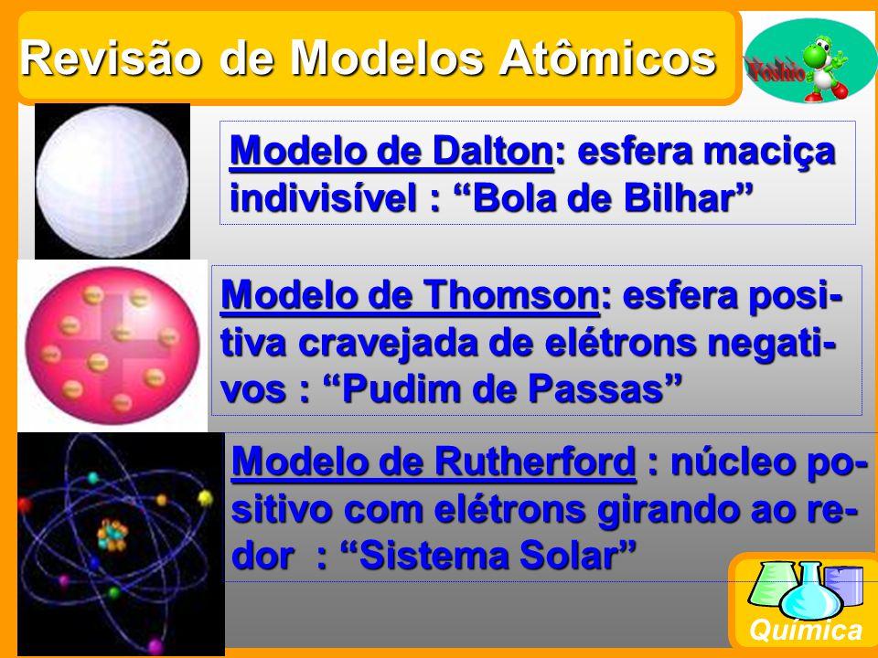 Química 1s 2 Ordem crescente de energia 2s 2 2p 6 3s 2 3p 6 4s 2 3d 10 4p 6 5s 2 4d 10 5p 6 6s 2 4f 14 5d 10 6p 6 7s 2 5f 14 6d 10 7p 6 Diagrama de Pauling EXEMPLO Faça a distribuição eletrônica do Cloro (Z=17) : 17 elétrons 1s 2 2s 2 2p 6 3s 2 3p 5 K=2 L=8M=7 (por camadas)