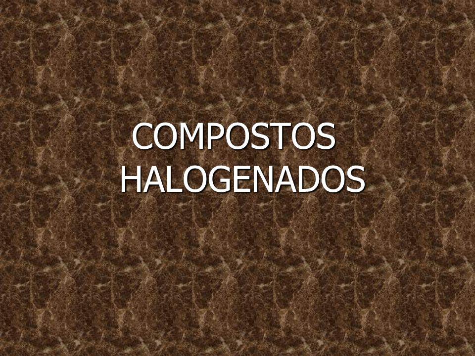 HALETOS São compostos orgânicos que derivam dos hidrocarbonetos, pela substituição de um ou mais hidrogênios, por átomos de halogênio (F, C, Br ou I).