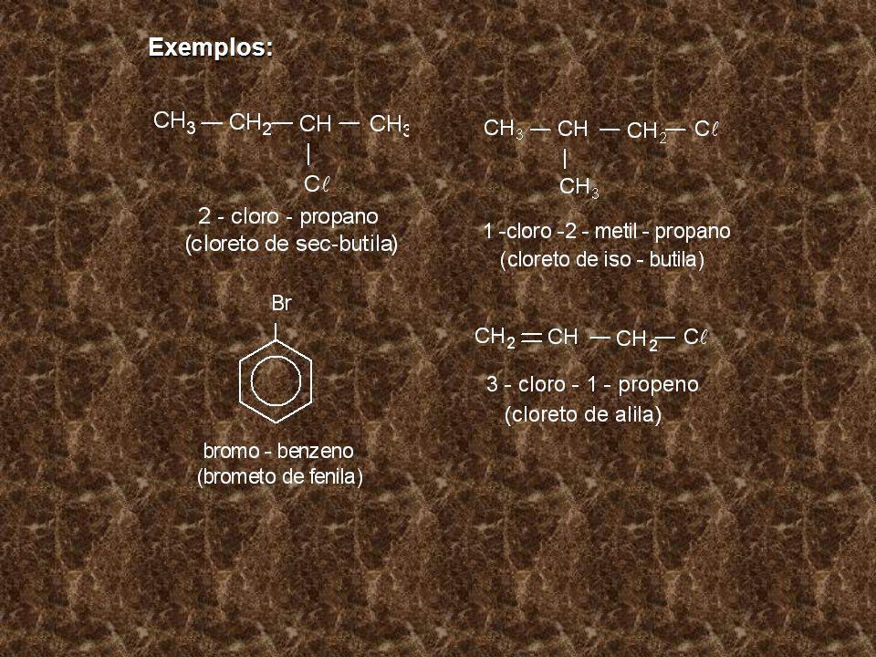 HALETOS DE ACILA São compostos orgânicos que possuem o grupo funcional - COX, onde X é um halogênio ( F, C, Br ou I).