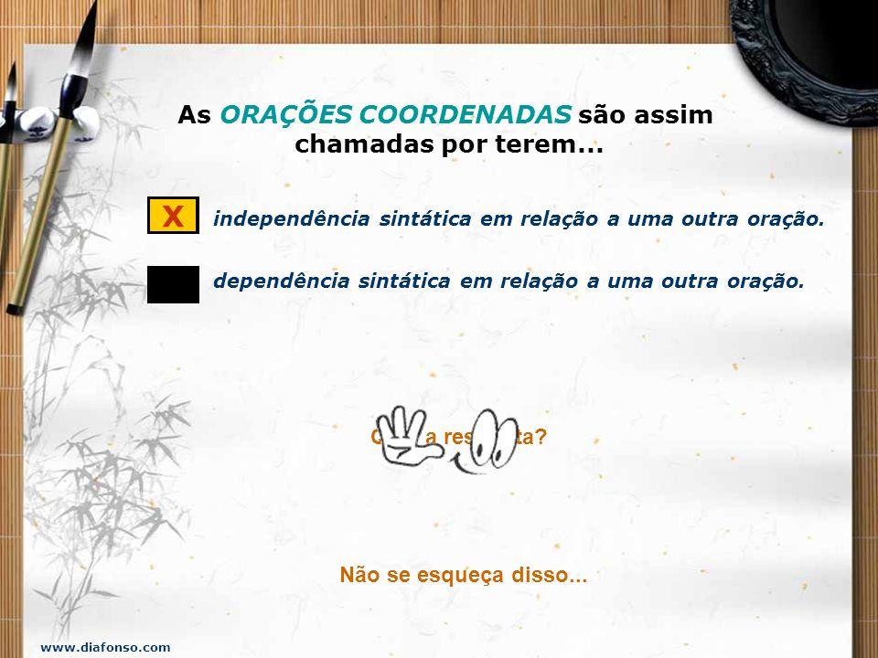 www.diafonso.com ADVERSIDADE, OPOSIÇÃO MAS PORÉM TODAVIA CONTUDO ENTRETANTO NO ENTANTO