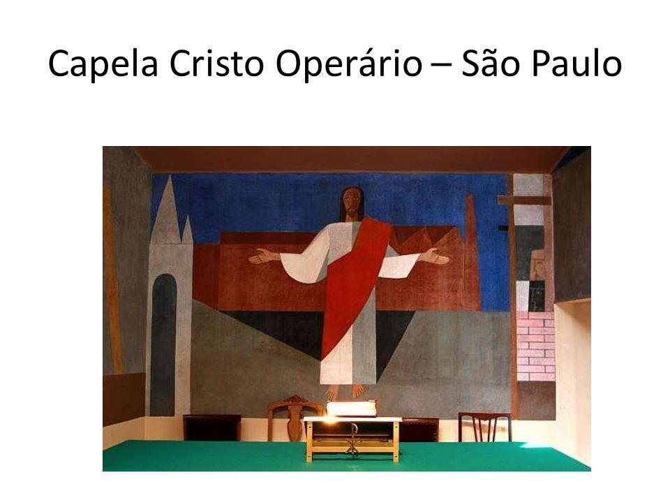 Capela Cristo Operário – São Paulo
