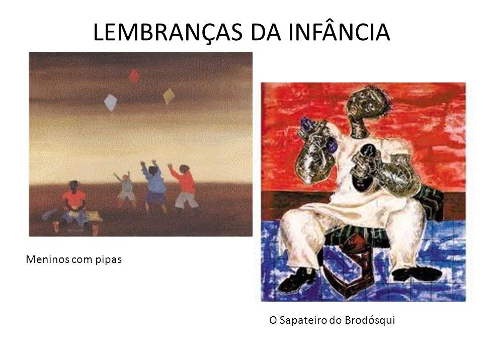 LEMBRANÇAS DA INFÂNCIA Meninos com pipas O Sapateiro do Brodósqui