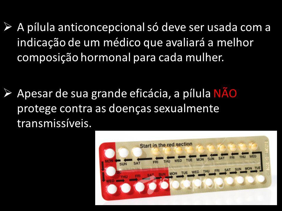A pílula anticoncepcional só deve ser usada com a indicação de um médico que avaliará a melhor composição hormonal para cada mulher. Apesar de sua gra
