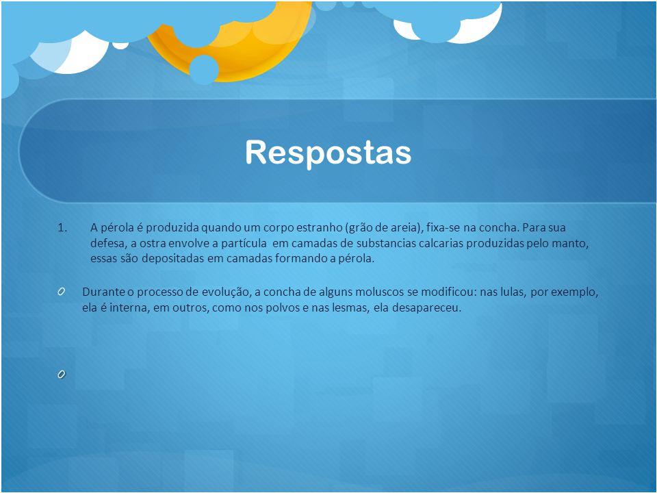 Bibliografia http://www.ipmalac.org/index.php?option=com_content&view=article&id=13&Itemid=13 https://www.google.com.br/#q=caracol http://www.dicio.com.br/molusco/ http://www.brasilescola.com/animais/invertebrados.htm http://www.vivaterra.org.br/moluscos.htm http://www.brasilescola.com/biologia/moluscos2.htm http://www.guiaguaruja.com.br/nossasbelezas/meioambiente/esquemamolusco.htm http://www.sobiologia.com.br/conteudos/Reinos2/biomoluscos.phphttp://www.sobiologia.com.br/conteudos/Reinos2/biomoluscos.php (barriga) http://www.escolakids.com/moluscos.htm