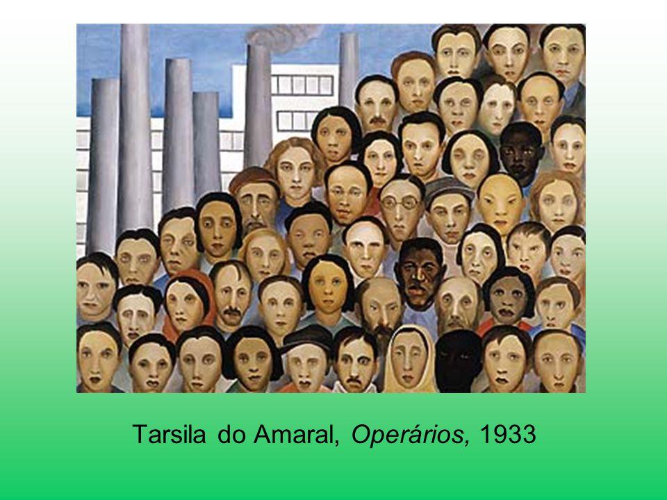 Tarsila do Amaral, Operários, 1933