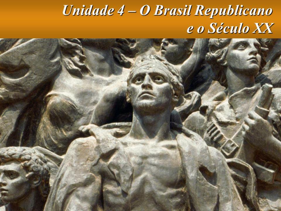 Unidade 4 – O Brasil Republicano e o Século XX