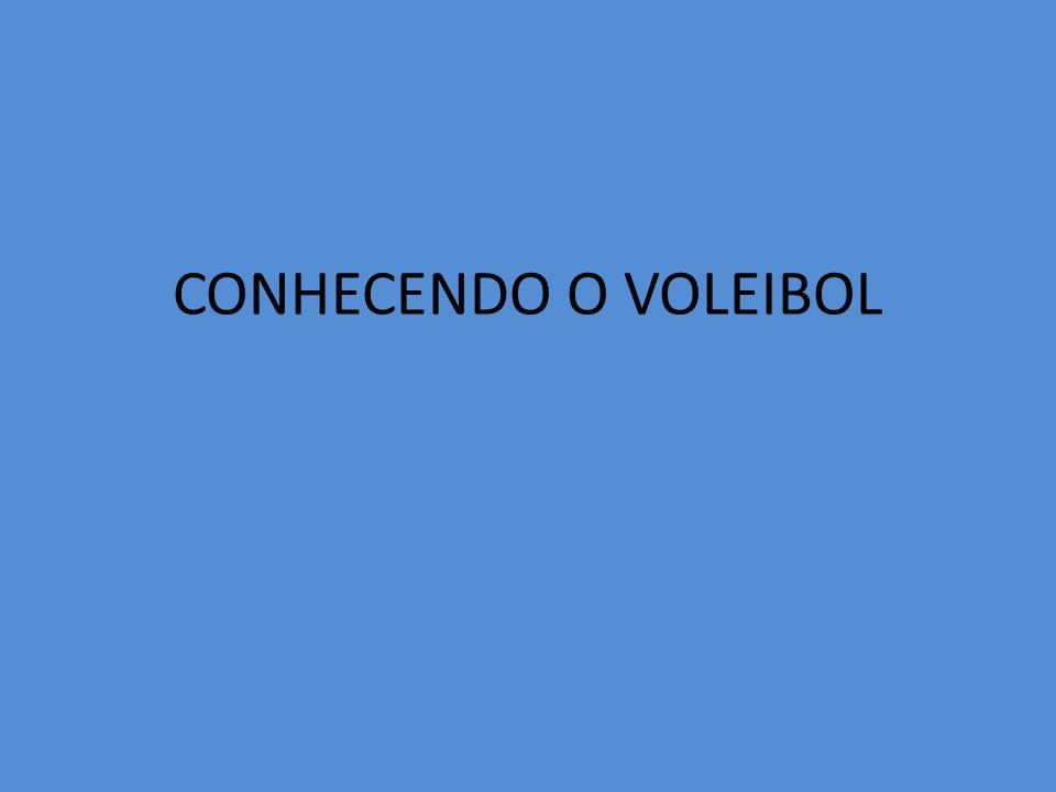 CONHECENDO O VOLEIBOL