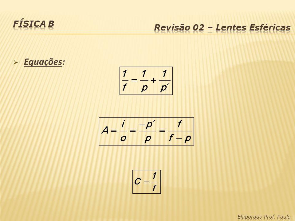 Equações: