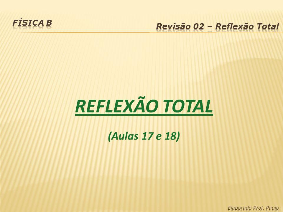 REFLEXÃO TOTAL (Aulas 17 e 18)