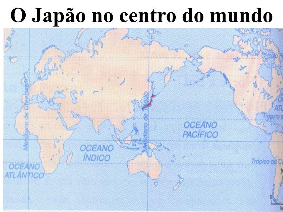 O Japão no centro do mundo