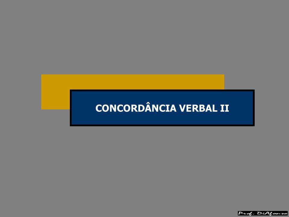 COLETIVO PARTITIVO + DETERMINANTE NO PLURAL Fica na 3ª pessoa do singular.