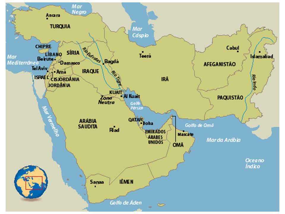 A região do Oriente Médio é uma das mais conflituosas do mundo.