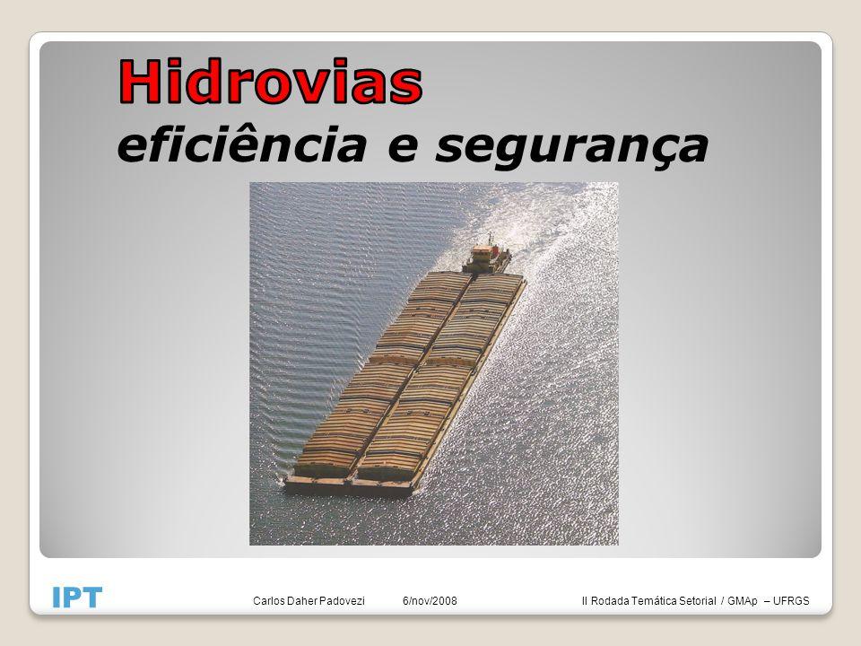 II Rodada Temática Setorial / GMAp – UFRGS IPT Carlos Daher Padovezi 6/nov/2008