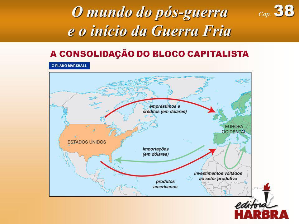 38 Cap. 38 A CONSOLIDAÇÃO DO BLOCO CAPITALISTA O PLANO MARSHALL O mundo do pós-guerra e o início da Guerra Fria