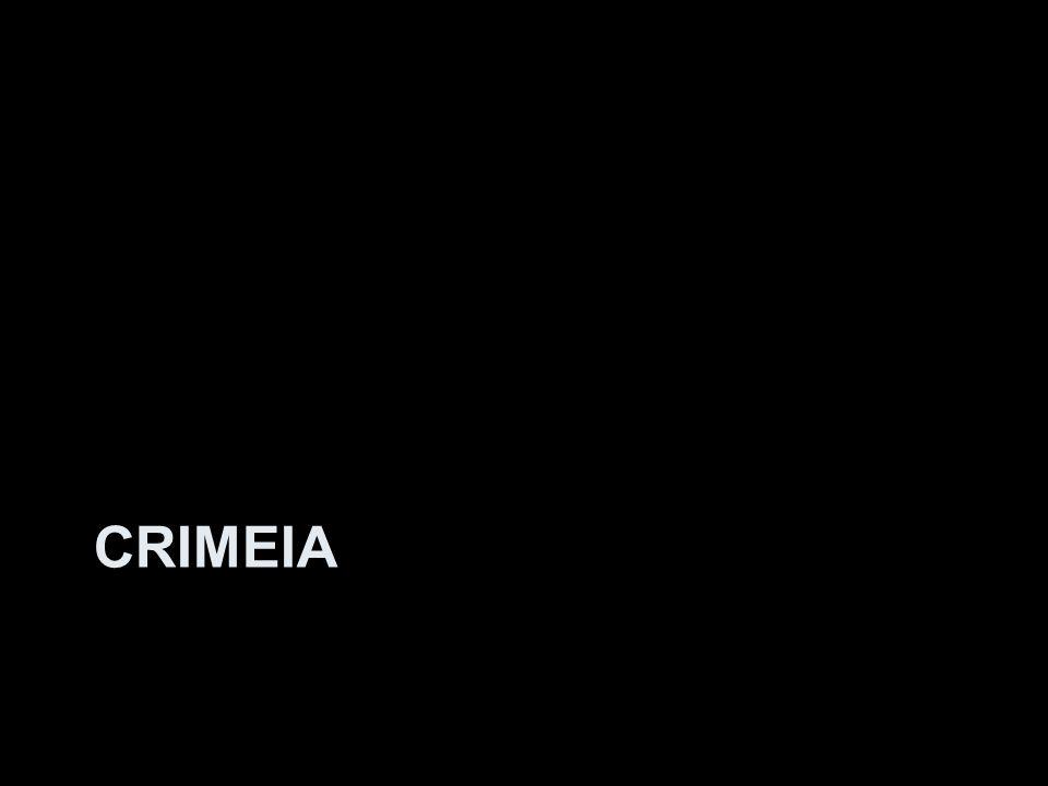 O controle da Crimeia O início da discussão Manifestantes antigoverno incendeia barricadas na Praça da independência em Kiev