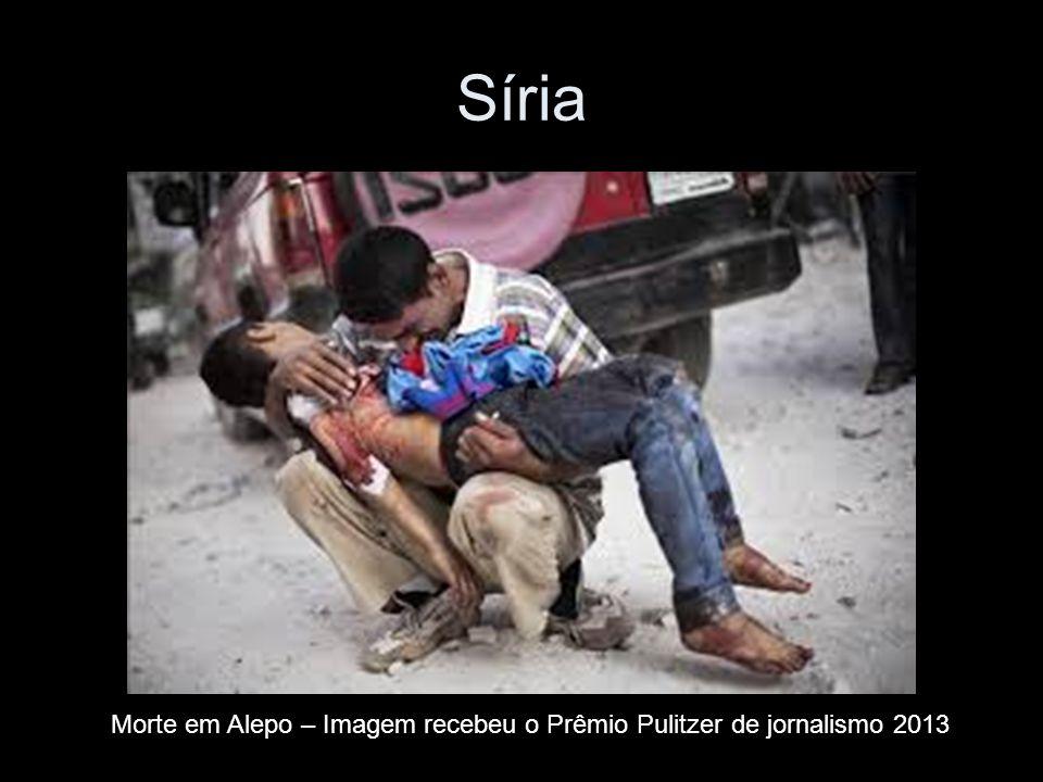 Síria Morte em Alepo – Imagem recebeu o Prêmio Pulitzer de jornalismo 2013
