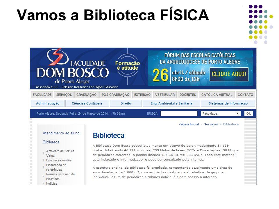 Vamos a Biblioteca FÍSICA