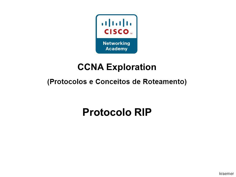 kraemer CCNA Exploration (Protocolos e Conceitos de Roteamento) Protocolo RIP