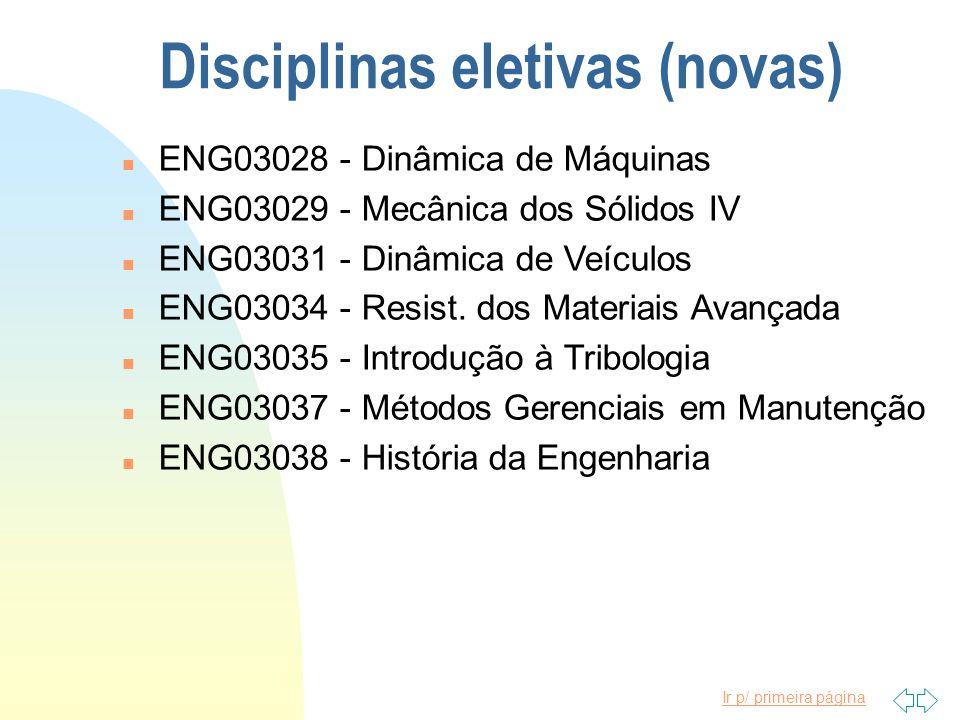 Ir p/ primeira página Disciplinas eletivas n ENG03005 - Mecânica dos Sólidos III n ENG03012 - Tóp.