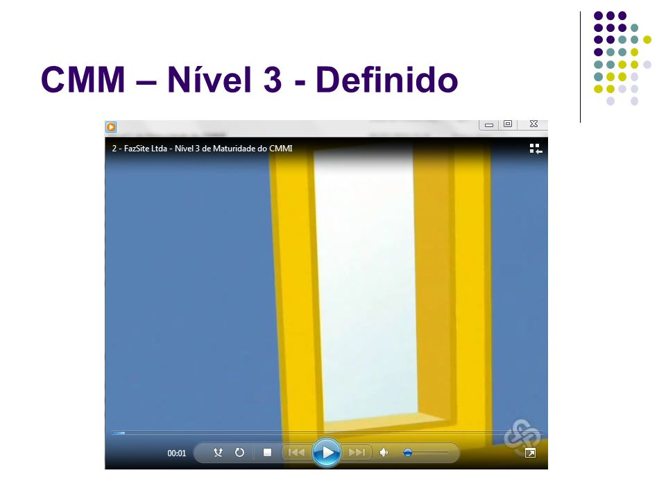 CMM – Nível 3 - Definido
