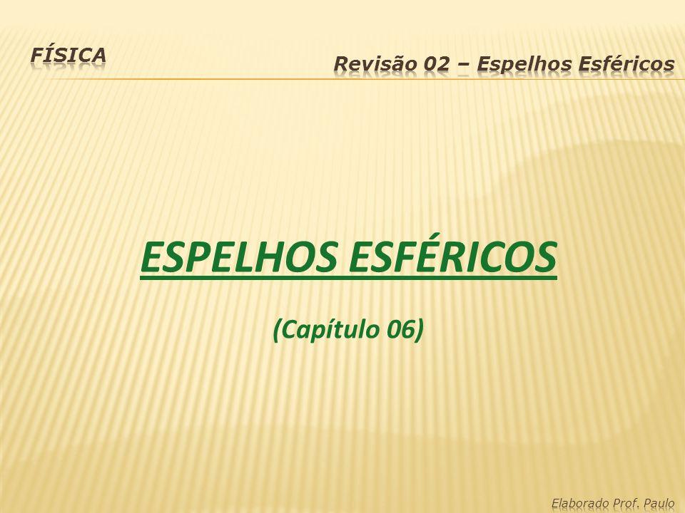 ESPELHOS ESFÉRICOS (Capítulo 06)