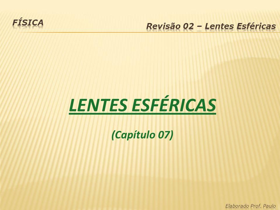 LENTES ESFÉRICAS (Capítulo 07)