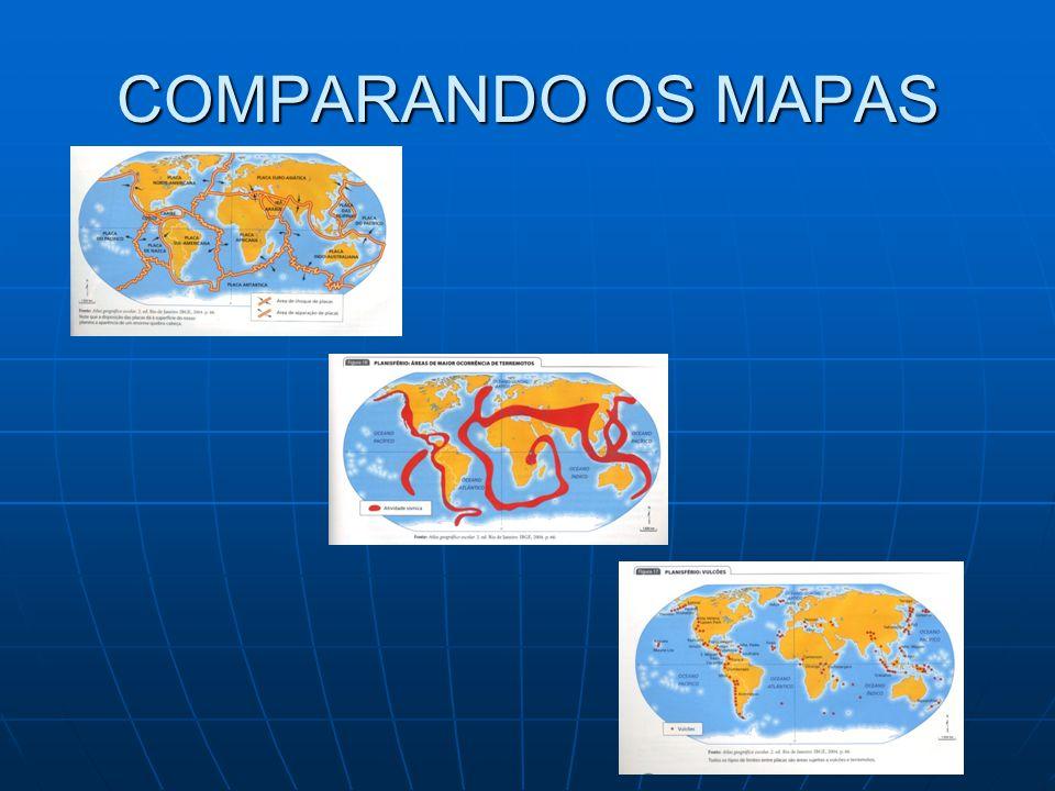 COMPARANDO OS MAPAS