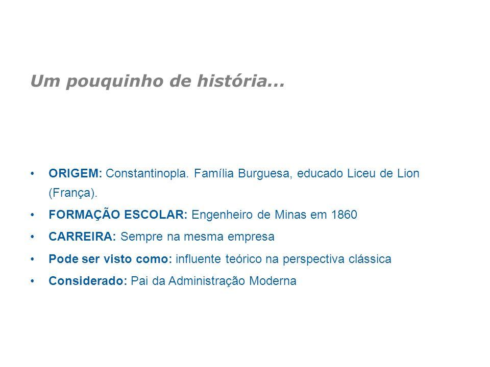 Um pouquinho de história... ORIGEM: Constantinopla. Família Burguesa, educado Liceu de Lion (França). FORMAÇÃO ESCOLAR: Engenheiro de Minas em 1860 CA