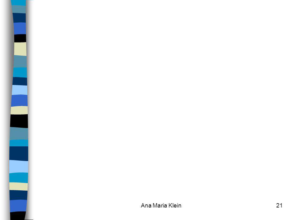Ana Maria Klein21