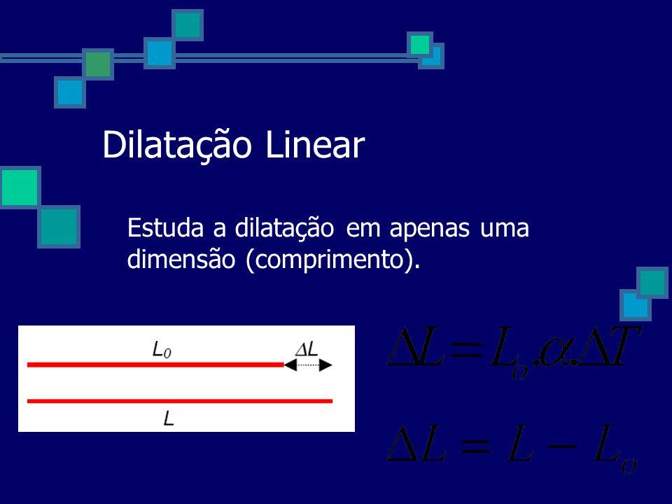Problema exemplo: A dilatação térmica dos sólidos é um fenômeno importante em diversas aplicações de engenharia, como construções de pontes, prédios e estradas de ferro.