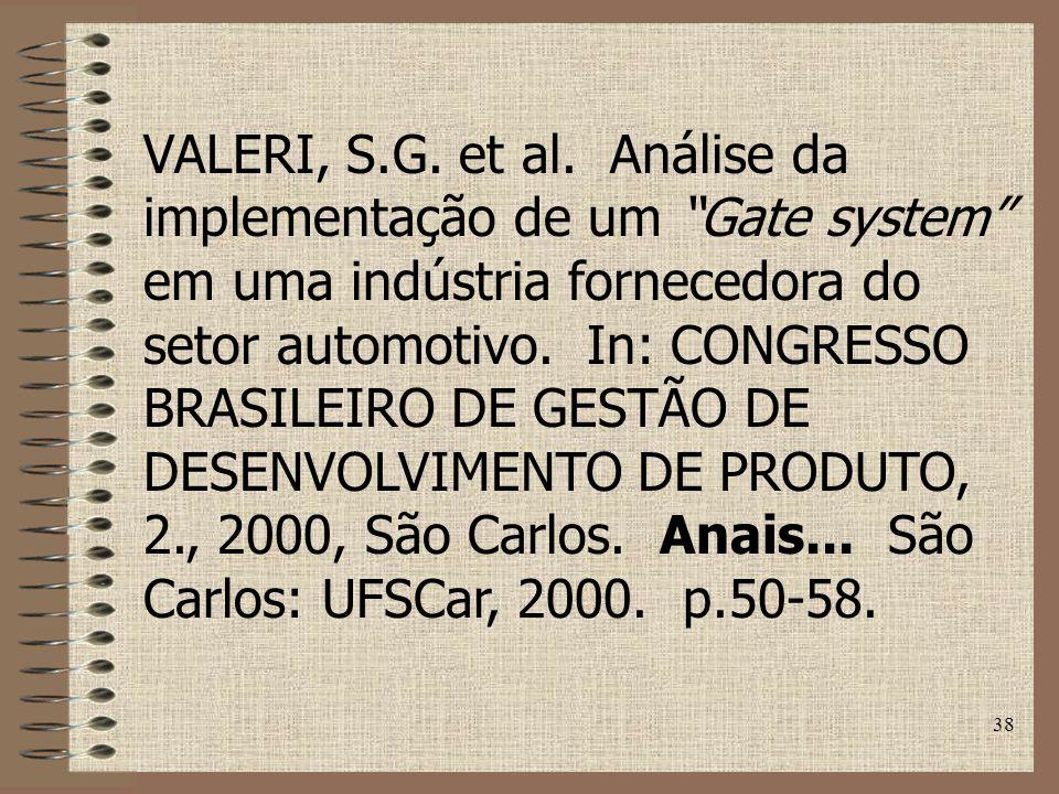 38 VALERI, S.G.et al.