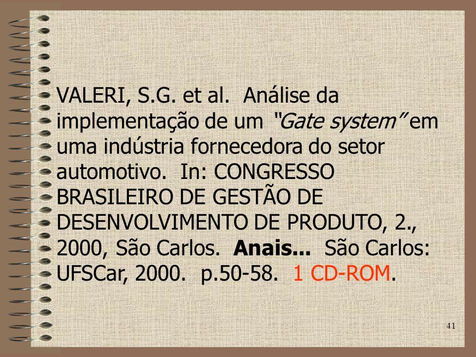 41 VALERI, S.G.et al.