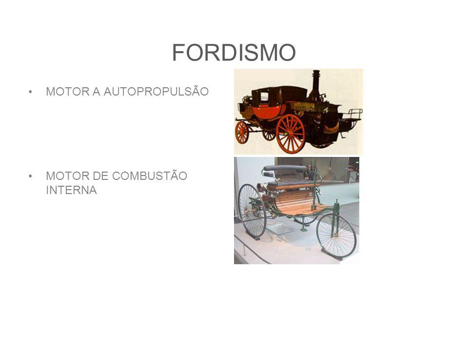 FORDISMO MOTOR A AUTOPROPULSÃO MOTOR DE COMBUSTÃO INTERNA