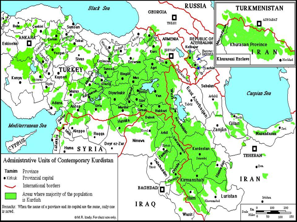 Os Curdos mais famosos da história foram Dario, o Medo, que reinou na Pérsia no tempo de Daniel, e Saladino, que lutou contra o Rei Ricardo Coração de Leão, nas cruzadas e reconquistou Jerusalém para o islamismo em 1187.