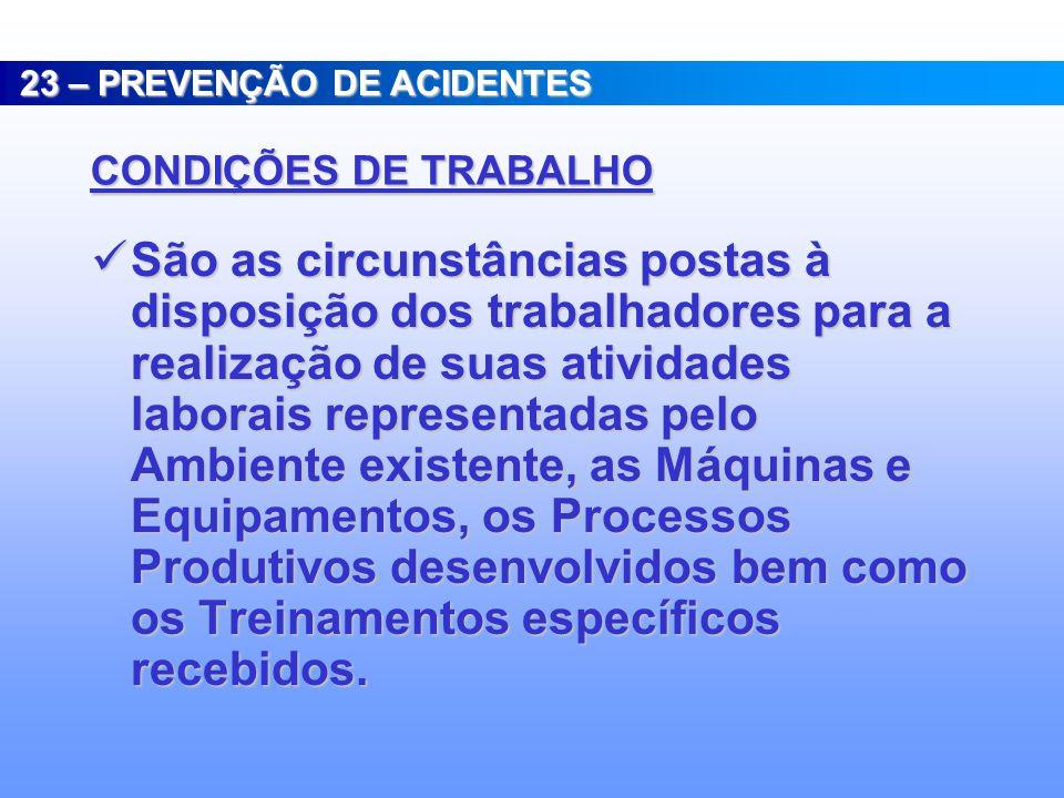 Engenharia de Segurança do Trabalho, com atuação na prevenção de acidentes do trabalho; Engenharia de Segurança do Trabalho, com atuação na prevenção