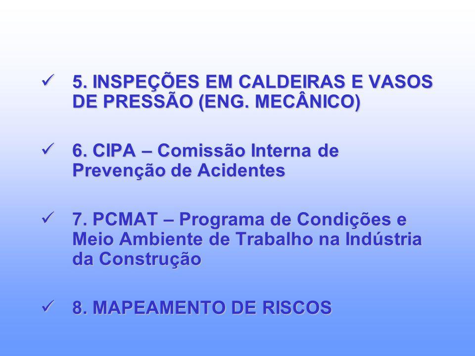 1. LTCAT - Laudo Técnico das Condições Ambientais do Trabalho 1. LTCAT - Laudo Técnico das Condições Ambientais do Trabalho 2. PCMSO - Programa de Con
