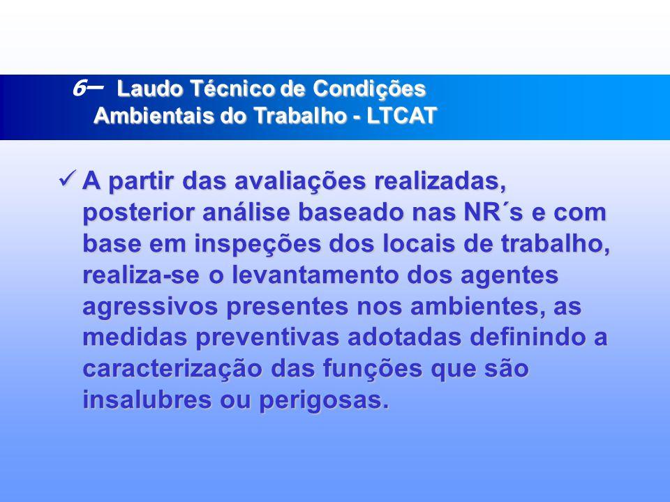 5. INSPEÇÕES EM CALDEIRAS E VASOS DE PRESSÃO (ENG. MECÂNICO) 5. INSPEÇÕES EM CALDEIRAS E VASOS DE PRESSÃO (ENG. MECÂNICO) 6. CIPA – Comissão Interna d
