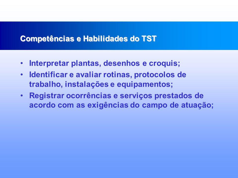 Conhecer a organização e funcionamento da CIPA, CPATP e SESSTP; Identificar medidas de segurança no armazenamento, transporte e manuseio de produtos, cargas e equipamentos; Competências e Habilidades do TST