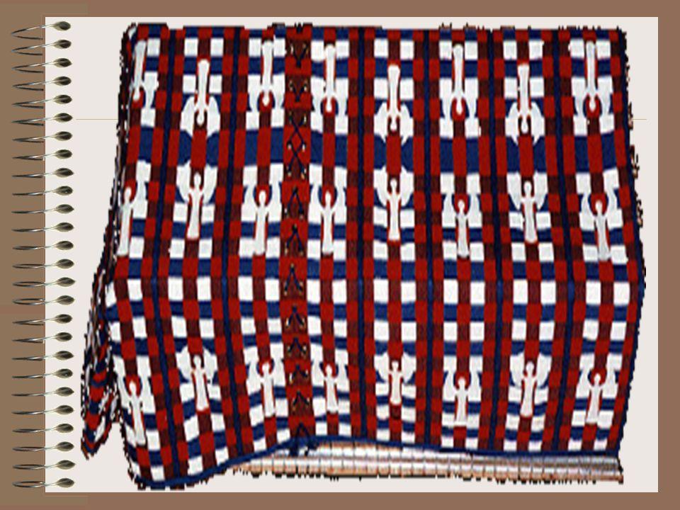 A Primeira Coberta (Uma Cortina) Esta cortina extravagante também foi decorada com figuras de querubins que foram bordados habilmente. Só eram vistos