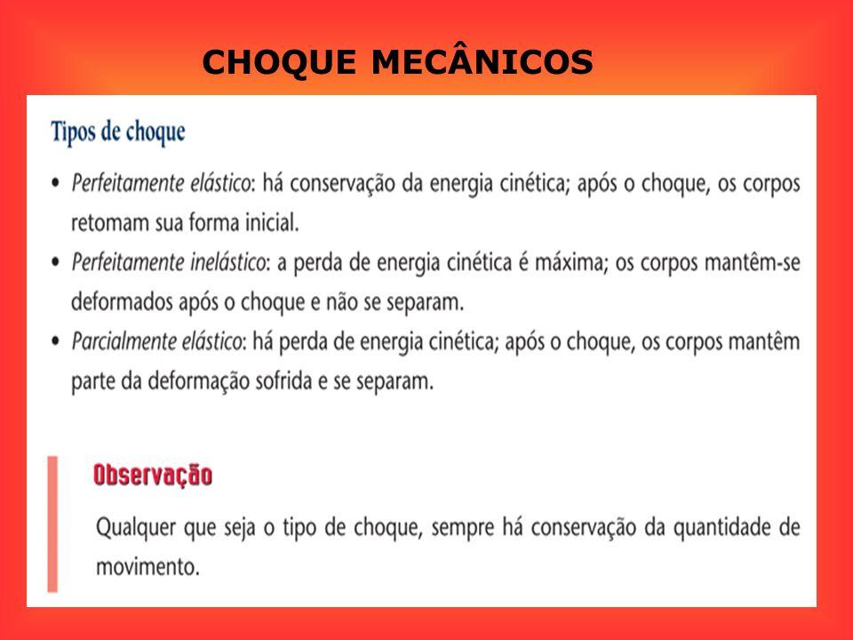 CHOQUE MECÂNICOS
