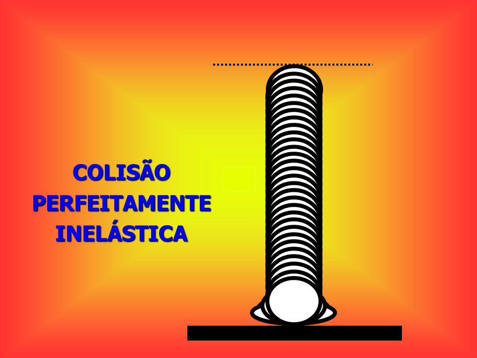 COLISÃO PERFEITAMENTE INELÁSTICA
