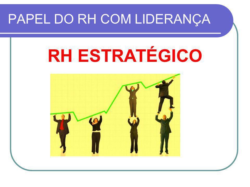 PAPEL DO RH COM LIDERANÇA RH ESTRATÉGICO
