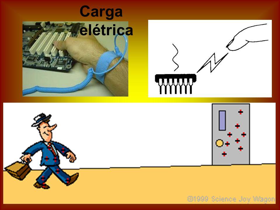 Campo elétrico é o campo de força provocado por cargas elétricas, (elétrons, prótons ou íons) ou por um sistema de cargas.