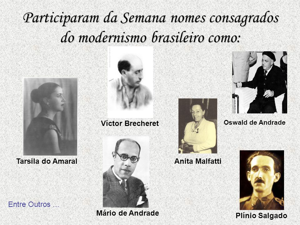 O presidente do Estado de São Paulo, da época, Dr. Washington Luís, apoiou o movimento, especialmente através de Rene Thiollier, que solicitou patrocí