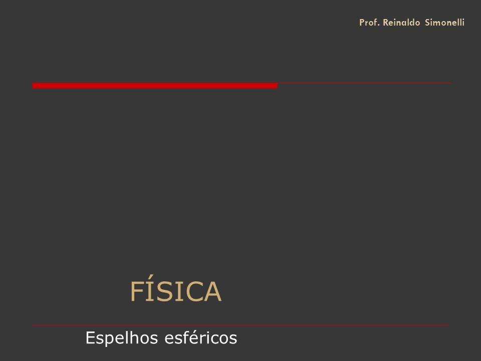 FÍSICA Espelhos esféricos Prof. Reinaldo Simonelli