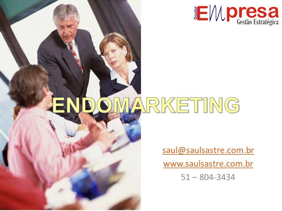 As premissas fundamentais do Endomarketing Interatividade: Endomarketing é uma ferramenta gerencial e não há como prescindir da interação dos colaboradores com os programas de Endomarketing implementados, até porque sua avaliação e feedback são imprescindíveis à eficácia dos mesmos.